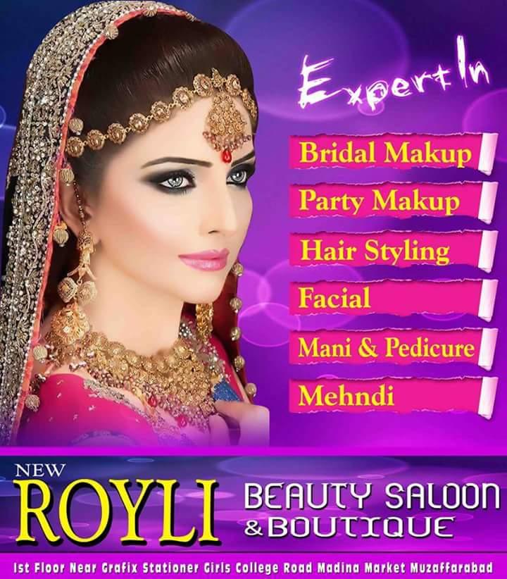 Beauty Hut Salon Islamabad Rawalpindi: New Royali Beauty Salon Muzaffarabad